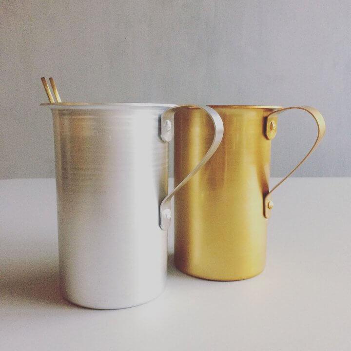 Kander _guld&sølvfarvede_0,5L